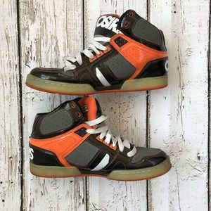 🌿OSIRIS BRONX RARE ORANGE Nyc83 shoes size 11